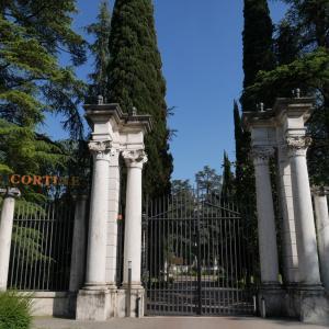 GW・北イタリアの旅、シルミオーネで泊まった宮殿ホテル