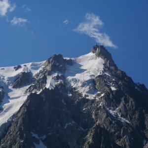 ヨーロッパアルプス絶景ルートのスタートはモンブランから