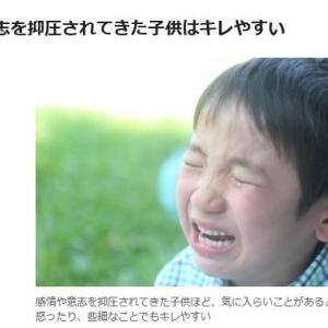 キレる子ども、思い通りにならないと直ぐ怒る子の心理と対応法