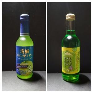 茶番回?!  埼玉と茨城のご当地メロンソーダを飲み比べる。  メロンソーダ / メロンサイダー