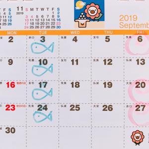【遅くなりました~!】9月のご予約受け付けを開始いたします!