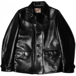 Y'2 LEATHER ANILINE HORSE SPORTS JACKET入荷!!