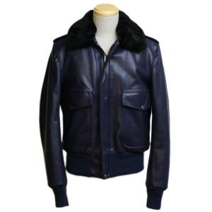 Schott 174US BOMBER JACKET NAVY