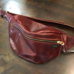 VANSON 9SBB NEW FANNY PACK OCTAGON x LEATHER PATCH