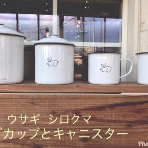 【今月は27日まで休まず営業】愛らしいウサギとシロクマでほっこり。色やニオイが付きにくいほうろう製のマグカップなので、コーヒーや紅茶用として使っても安心です。