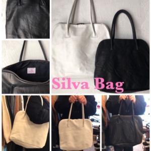 【16.17土日10:30-17:00オープン】デザイナー「Silva」の名前がついたbag。柔らかく、とても軽くて上質な牛革を使用。男女問わず、様々なシーンに合わせやすい万能なバッグです。