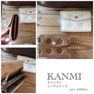 【7/19-20close//他通常】バック選びの悩みがなくなるKANMIのお財布が入荷◎キャッシュレス時代…お札は二つ折りで入り、カードはまとめて8枚入れてもまだ余裕たっぷり。小銭入れはファスナー付