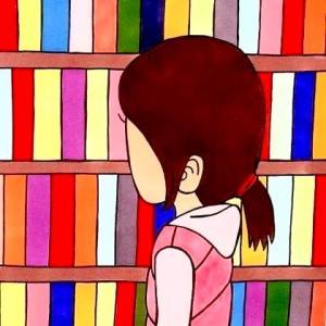 その12 図書館にて