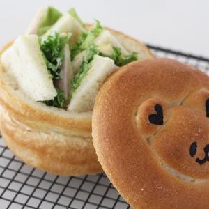 まるくま食パンでピクニック♪
