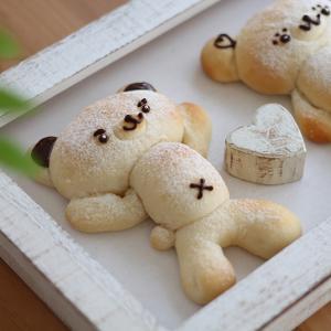 何個焼いてもキュン♪なくまパン♪