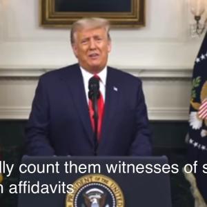 「一番大事なスピーチ」トランプ大統領