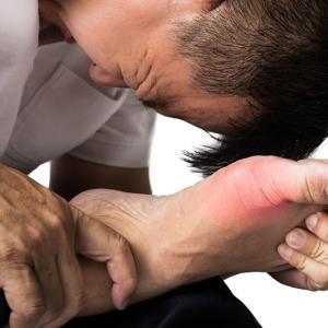 突然あなたを襲う痛風の激痛!自然療法で尿酸をコントロール