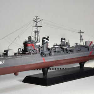 1/350 陽炎型航洋直接教育艦「晴風」(最終形態)を作る 完成