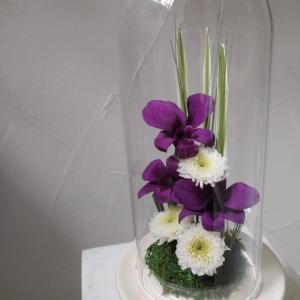 ドーム型仏花