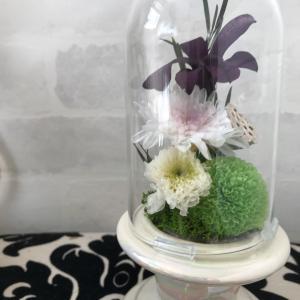 大人気のドーム型仏花