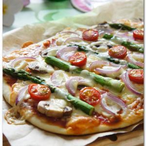 薄力粉でピザ!