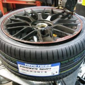 PROXES Sport を AMG C63 へ