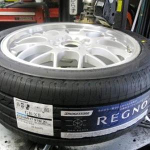 ブリヂストン REGNO GR-XⅡ を S2000 へ