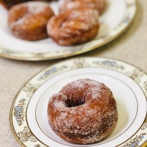 ★今月のこどもパン教室は「ドーナツ」です。