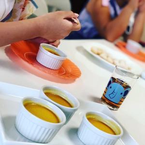 ★ハロウィンこどもお菓子教室「かぼちゃプリン&スノーボール」を開催しました。