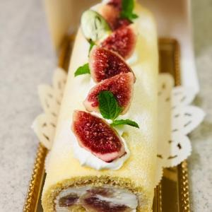 ★イチジクの米粉ロールケーキにご注文いただき有難うございます。