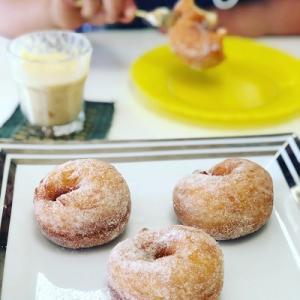★子供パン教室「ドーナツ&フレッシュジュース」を開催しました。