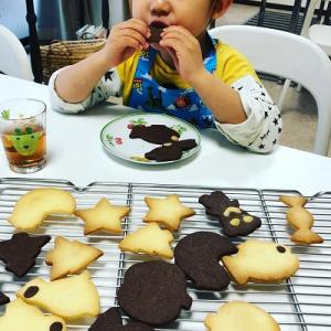 ★子どもお菓子教室「型抜きクッキー」を開催しました。