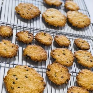 ★こどもお菓子教室「チョコチップとオートミールのかりかりクッキー&バニラアイス」を開催しました。