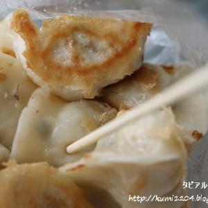 金鳳水煎餃 サクッとクリスピーな皮の小ぶりの焼き餃子 @ 台湾・高雄