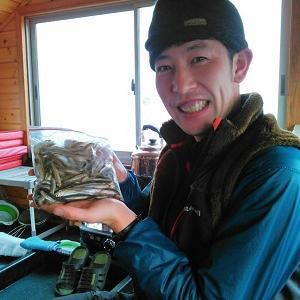 風来坊の桧原湖ワカサギ釣り!毎日楽しく、営業中です♪