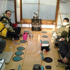 風来坊の桧原湖ワカサギ釣り!みなさんに会えてうれしいなぁブログです♪
