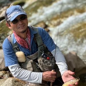 風来坊のフライフィッシング!生き生き三人組の渓流釣行♪