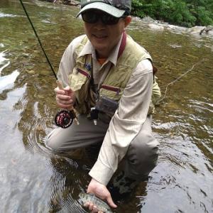 風来坊のフライフィッシング!3日間の渓流釣行はこんな方々と♪
