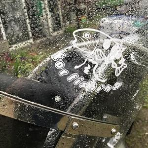 風来坊のフライフィッシング!雨の中、こんな乗り物で現われるフライマン♪