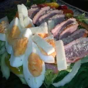 鴨の薫製サラダ