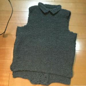 ペストが編み上がりました。