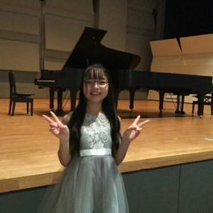 タマちゃんのピアノ発表会