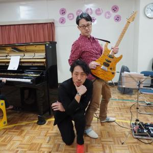 幼稚園の音楽祭で弾いてきました。