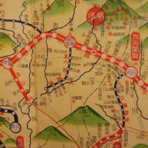 昭和9年鉄道路線図・サムネイル版09=栃木