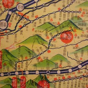 昭和9年鉄道路線図・サムネイル版10=群馬