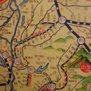 昭和9年鉄道路線図・サムネイル版11=茨城