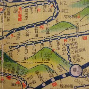 昭和9年鉄道路線図・サムネイル版13=埼玉