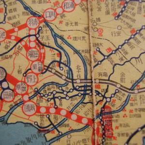 昭和9年鉄道路線図・サムネイル版14=東京