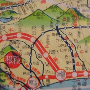 昭和9年鉄道路線図・サムネイル版15=神奈川