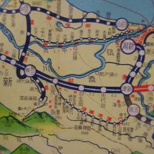 昭和9年鉄道路線図・サムネイル版16=新潟