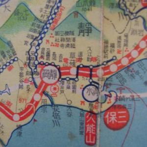 昭和9年鉄道路線図・サムネイル版19=静岡
