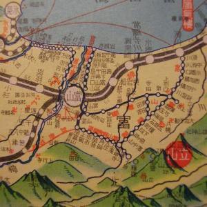 昭和9年鉄道路線図・サムネイル版23=富山