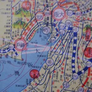 昭和9年鉄道路線図・サムネイル版30=大阪