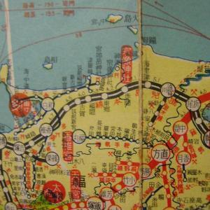 昭和9年鉄道路線図・サムネイル版41=福岡