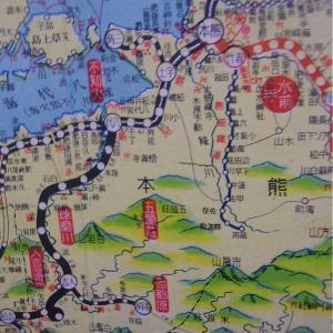昭和9年鉄道路線図・サムネイル版44=熊本